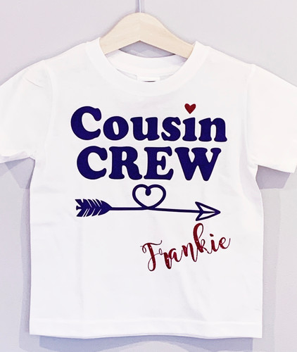 Personalised Cousin T Shirt
