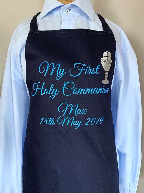 Boy's Holy Communion Apron