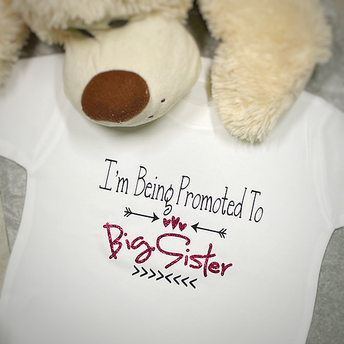 Promoted to Big Brother/Sister T-Shirt