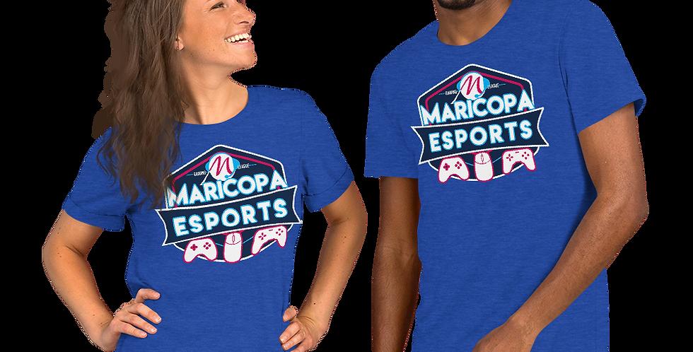 Maricopa E-Sports Logo Short-Sleeve Unisex T-Shirt