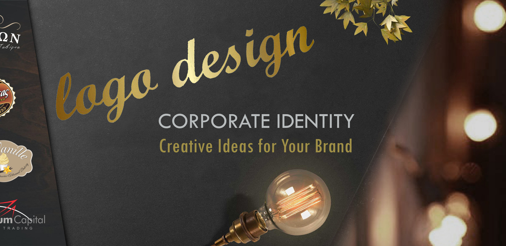 We Design Logo for Your Business