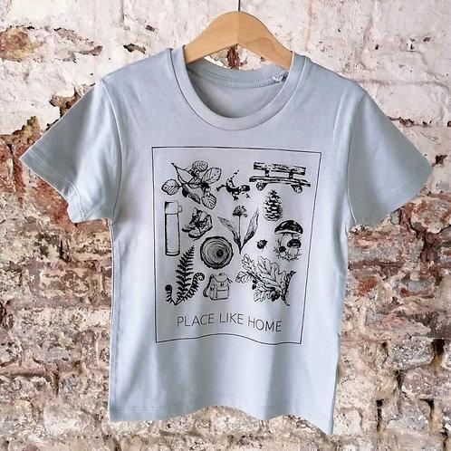 Kids Shirt hellgrau