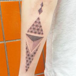 Ein _kaattootattoo für Deniz!__#dotwork #tattoo #blacktattooart #blackwork #dotworktattoo #poketatto