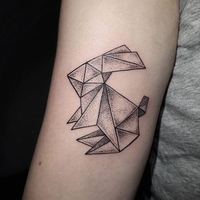 Origami Hase für Antonia! Danke! _) #dot