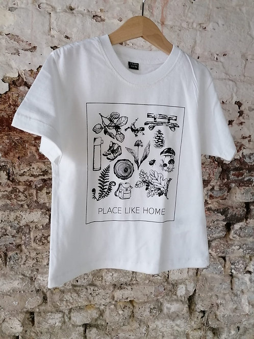 Kids Shirt weiß