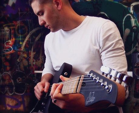 Alberto Rosado Suhr Guitar Black Matte