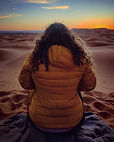 Epic sunrise in the Sahara 🌅😍_._._._._