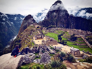 Machu Picchu was stunning and we were in