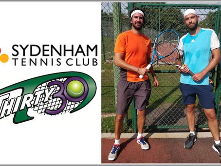 T30 Tennis Blog - Sydenham Tennis Club's 2020 Annual Tournament uses the quick-fire Thirty30 format