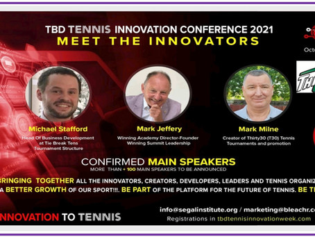 The shorter format of Thirty30 (T30) is to be presented at the TBD Tennis Innovation Conference 2021