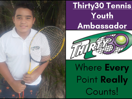 Antoine Campos (Eco Tennis Project Cuba) – Thirty30 Tennis Youth Ambassador