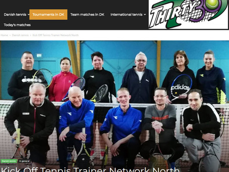 Thirty30 Tennis received very positively in Hjørring Denmark