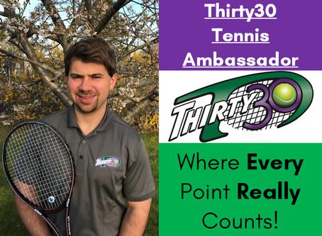 Jesse Gotlib (USPTA, North Dartmouth, Massachusetts, USA) - Thirty30 Tennis Ambassador