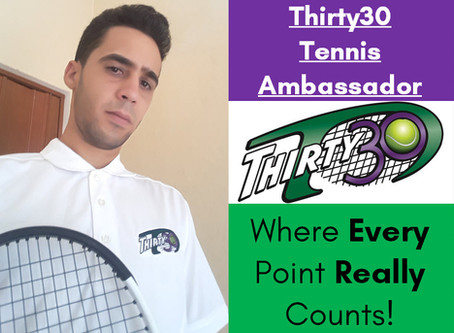 Carlos López Toledo (Cuban Tennis Federation, Havana, Cuba) - Thirty30 Tennis Ambassador