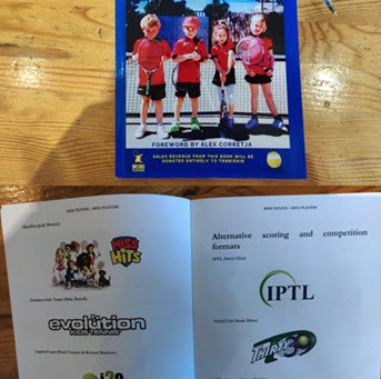 """Thirty30 tennis - """"Kids Tennis – Mini Players"""" book - """"Alternative scoring and competition formats"""""""