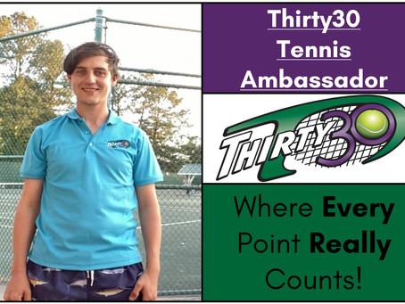 Luke Harden (Owner & Founder of 21Ace Tennis Events LLC, Georgia, USA) – Thirty30 Tennis Ambassador
