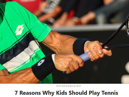 Thirty30 Tennis Blog - LinkedIn Article - 7 Reasons Why Kids Should Play Tennis