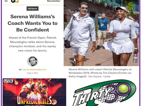 Thirty30 Blog – Patrick Mouratoglou's 'wacky new vision for tennis' – Ultimate Tennis Showdown (UTS)