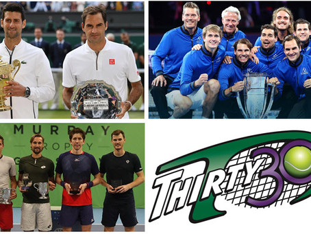 Thirty30 Tennis Blog - 2019 Wimbledon, Laver Cup, Murray Trophy - What Did They All Have in Common?