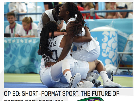 T30 Blog: Article by Sport Industry Group: 'Short Format Sport. The Future of Sports Sponsorship'