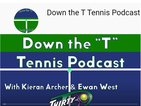 """Mark Milne joins 'Down The """"T"""" Tennis Podcast' to talk about his shorter-format creation 'Thirty30'"""