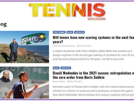 Thirty30 Tennis Blog - tennisweekend.ru: Will tennis have new scoring systems in the next few years?