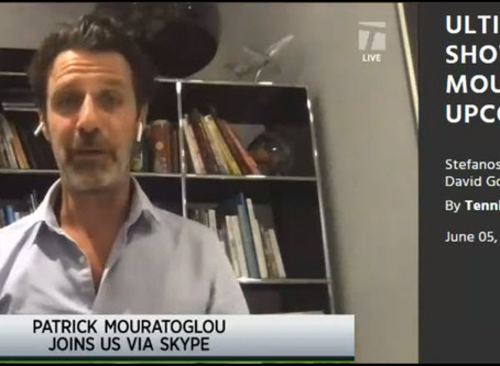 T30 Blog: Patrick Mouratoglou - Ultimate Tennis Showdown - How it will bring a new age of tennis