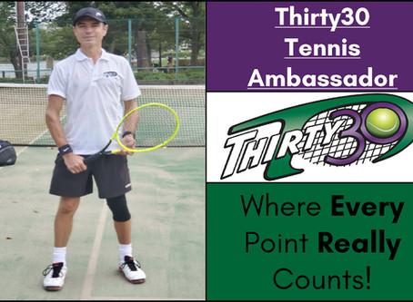 Kyle Hartshorn (Tennis Coach, Tokyo, Japan) - Thirty30 Tennis Ambassador