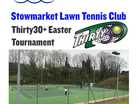 Stowmarket Lawn Tennis Club Tournament uses the quick-fire shorter faster-paced Thirty30+ format