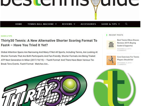 Besttennisguide Article - Thirty30 Tennis: A New Alternative Shorter Scoring Format to Fast4