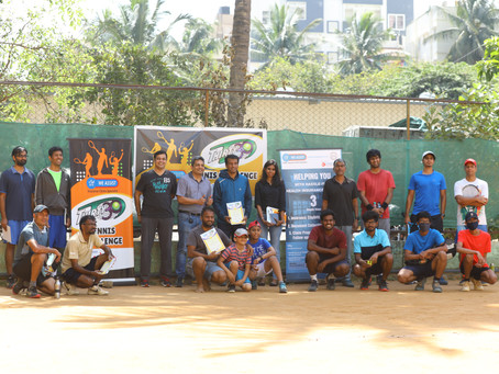 Bangalore Tennis Academy - Inaugural 'We Assist' Thirty30 Tennis Challenge Competition 2020 Results