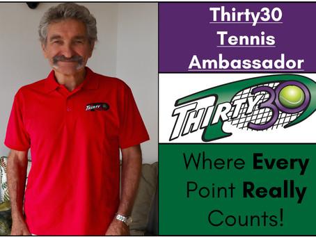 Michael Reynolds (Tennis Professional, Cape Town, South Africa) – Thirty30 Tennis Ambassador