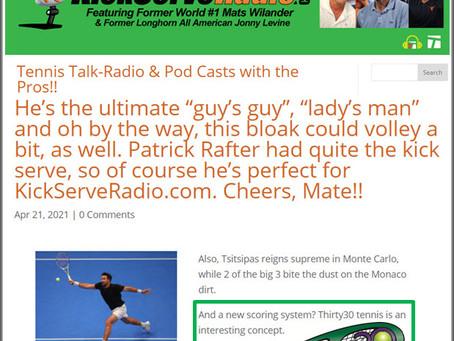 KickServeRadio.com Interview with Mark Milne the Creator of Thirty30 (T30) Tennis - April 2021