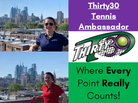 Rachel Cohen (Tennis Professional, Southampton, Pennsylvania, USA) - Thirty30 Tennis Ambassador
