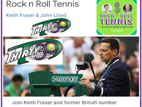 Thirty30 Tennis Blog – Rock n Roll Podcast – Legendary Umpire Lars Graff on Shorter Scoring Formats
