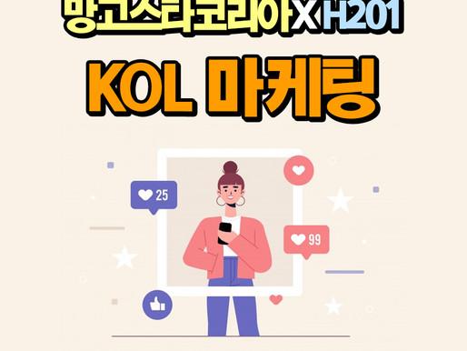[망고스타코리아] 망고스타코리아 X H201 KOL 마케팅