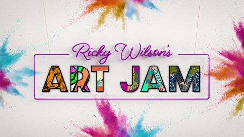 Ricky Wilson's Art Jam