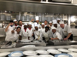 Pride of America's Main Galley Crew 2018