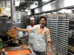 Accidents in Cruise Line Kitchens