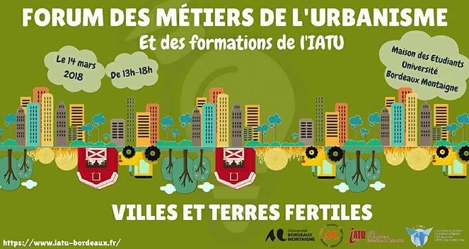 Forum des métiers d'urbaniste
