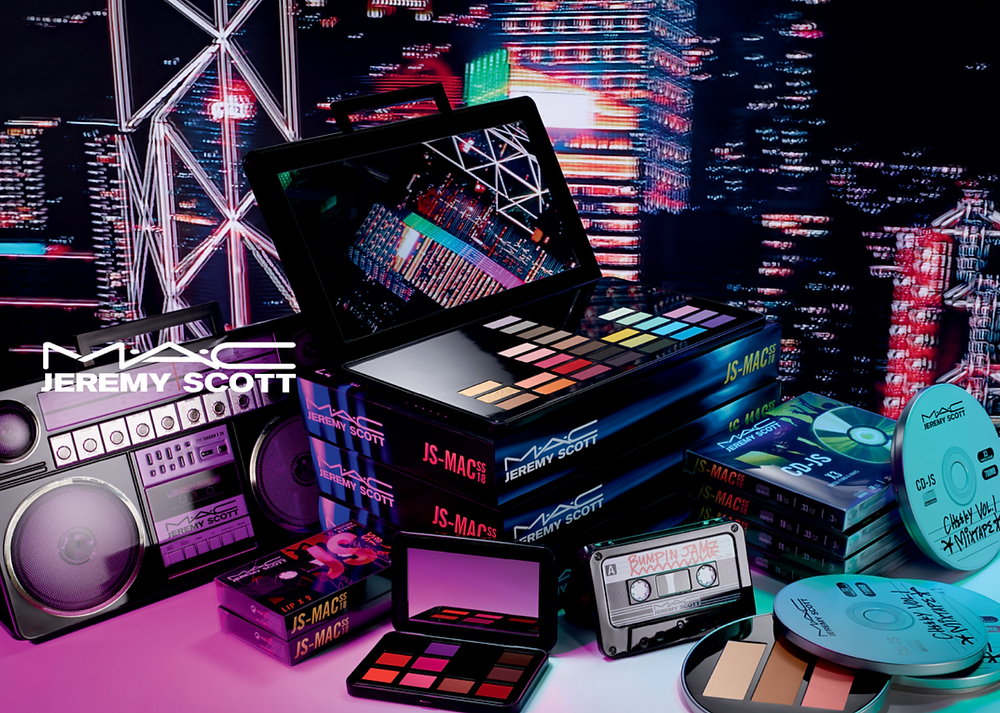 M.A.C X Jeremy Scott Cosmetic Collection