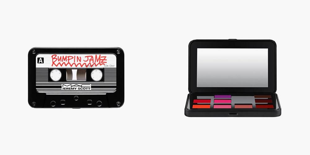 M.A.C X Jeremy Scott Cosmetic Collection - Casette Tape Palette