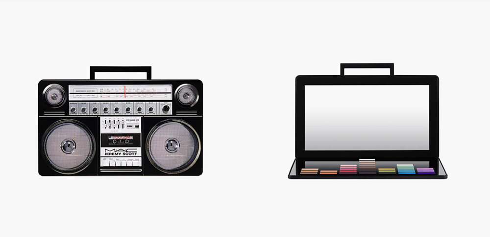 M.A.C X Jeremy Scott Cosmetic Collection - Boombox Palette