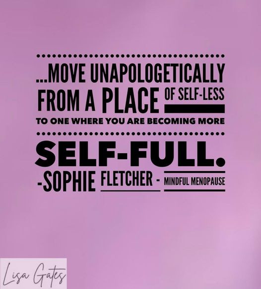 Why self-full is preferable to selfless.