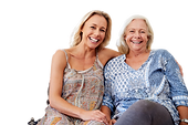 portrait-of-smiling-mother-with-adult-da