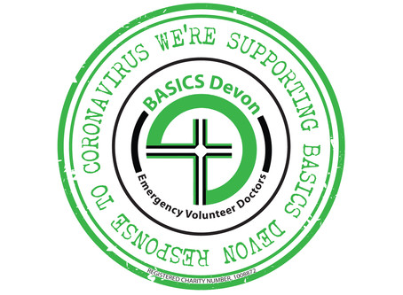 BASICS Devon Virtual Badge to thank their supporters
