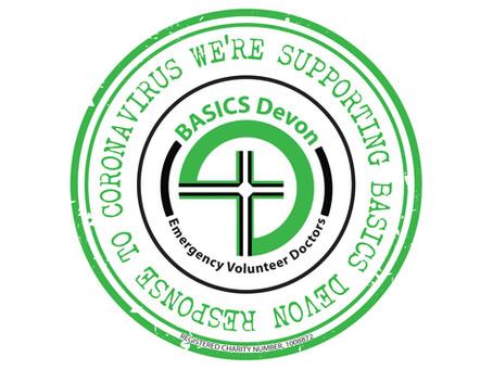 BASICS Devon Virtual Badge to thank their supporters