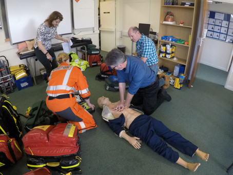 Lifesaving Charity hosts BASICS South West Study Day 2019