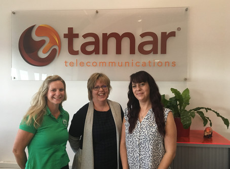TAMAR TELECOMMUNICATIONS SUPPORT LIFE SAVING CHARITY BASICS DEVON