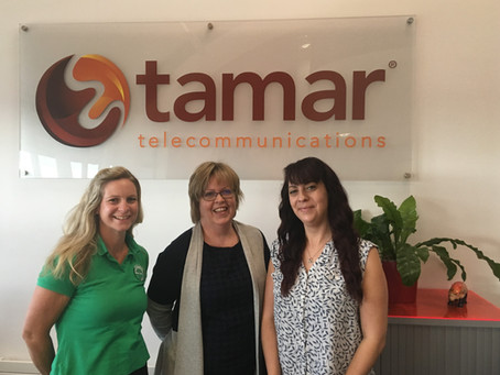 TAMAR TELECOMMUNICATIONS SUPPORT LIFE SAVING CHARITY BASICS DEVON